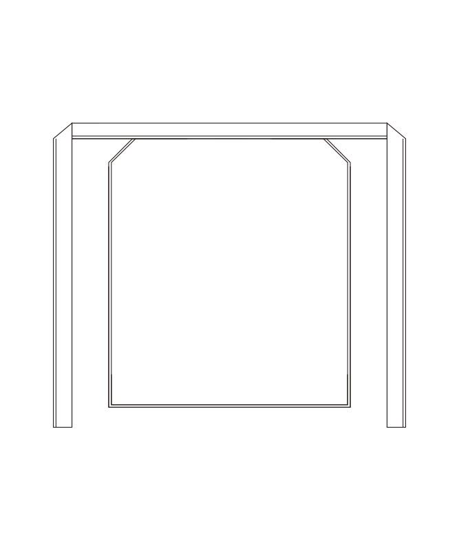 葛城調理前掛[2枚入][KAZEN製品] 490-50