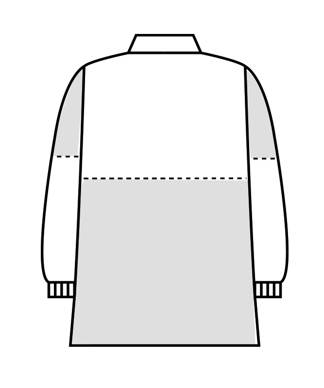 ポプリンブルゾン長袖[男女兼用][住商モンブラン製品] 8-761