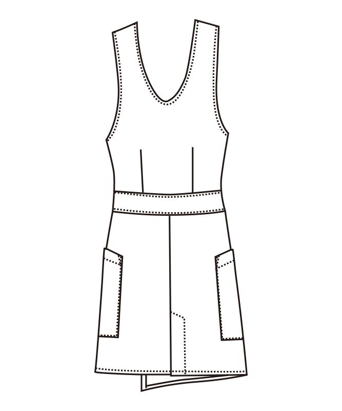 エプロン[女子][チトセ製品] CL-0264