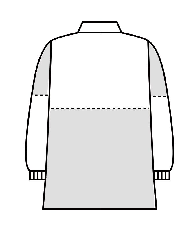制電交織ツイルブルゾン長袖[男女兼用][住商モンブラン製品] 8-771