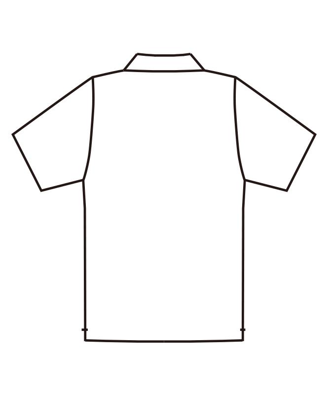 ポロシャツ半袖[男女兼用][チトセ製品] UN-0030