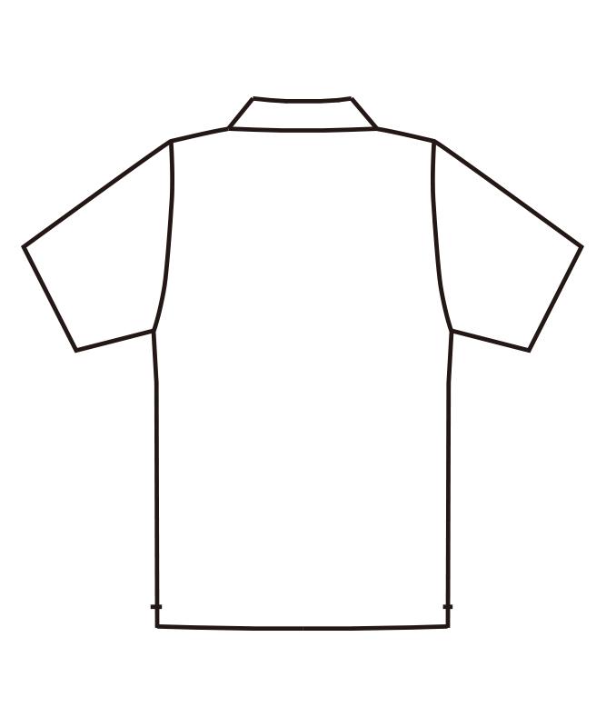 ポロシャツ半袖[男女兼用][チトセ製品] UN-0031