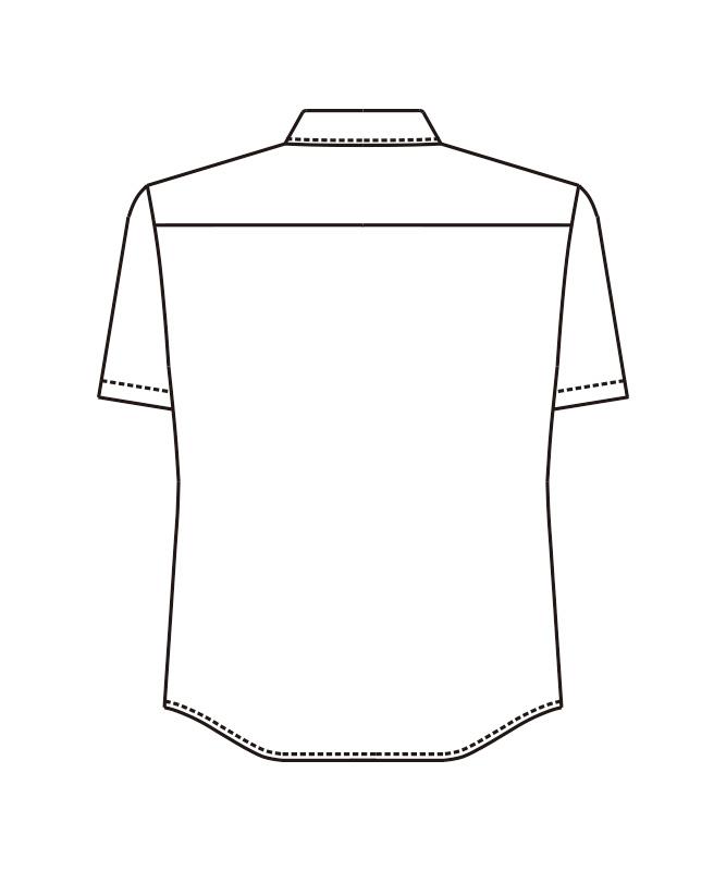 ストレッチシャツ半袖[男女兼用][ボストン商会製品] 23311