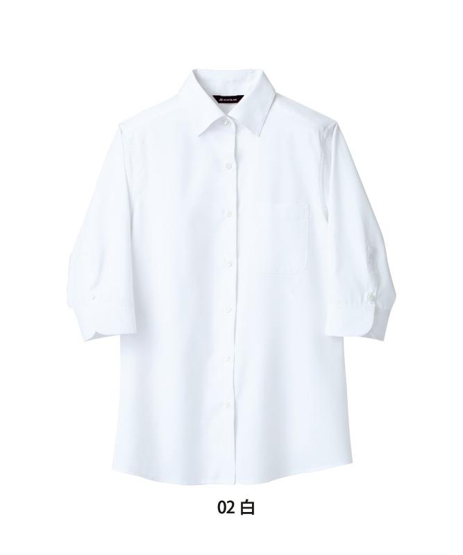 シャツレディス七分袖[住商モンブラン製品] BF2203-2