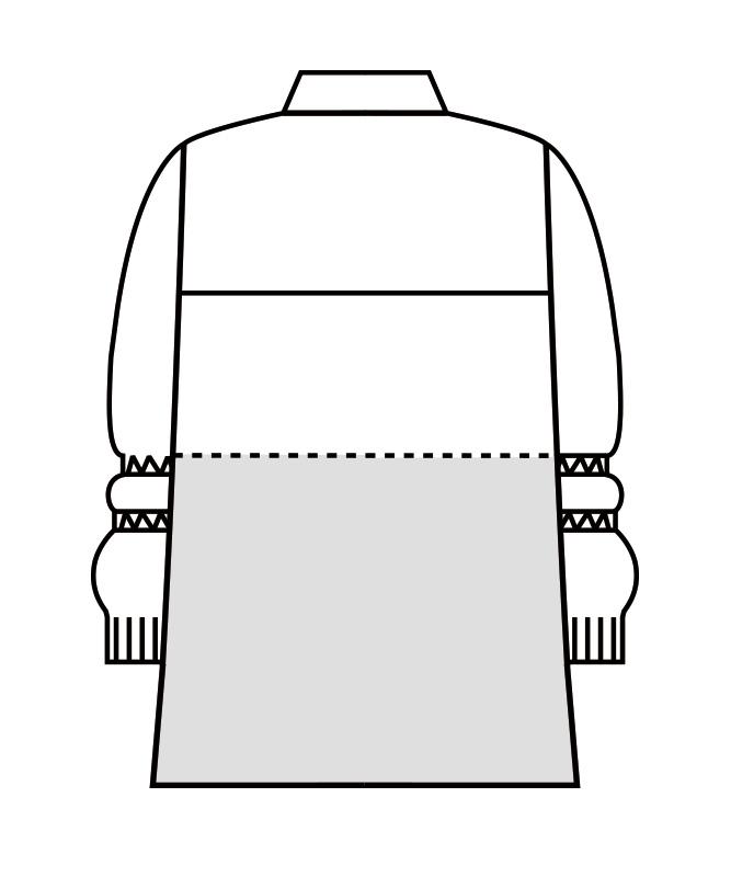 制電ストレッチツイルブルゾン長袖[男女兼用][住商モンブラン製品] 8-901