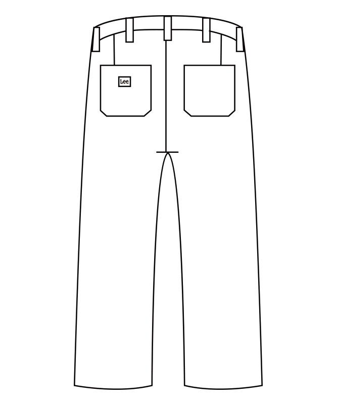 Leeベイカーパンツ[男女兼用][ボンマックス製品] LCP69002