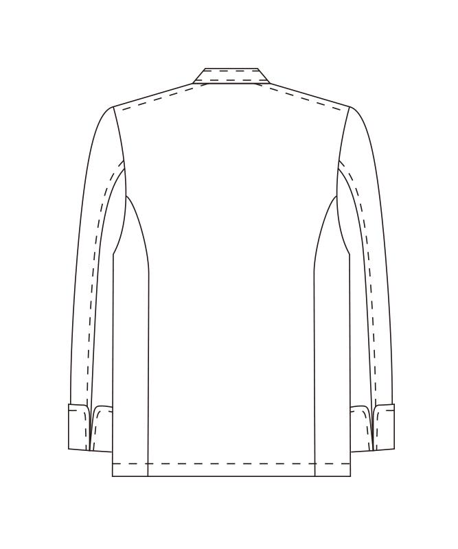 ツイルコックコート長袖[男女兼用][チトセ製品] AS7300