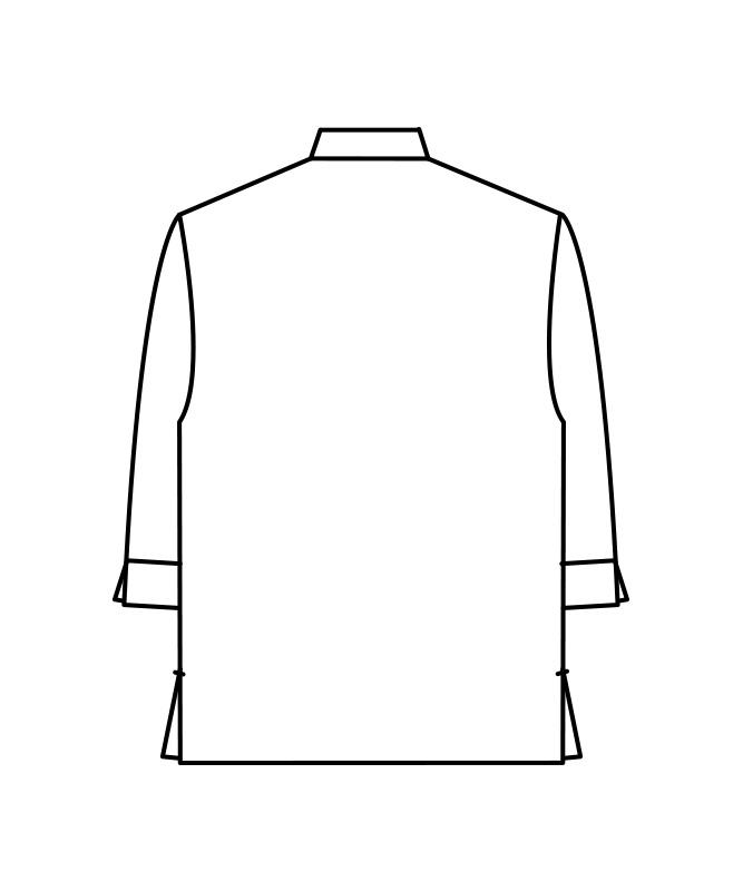 ストライプビエラシャツ七分袖[男女兼用][住商モンブラン製品] MC735