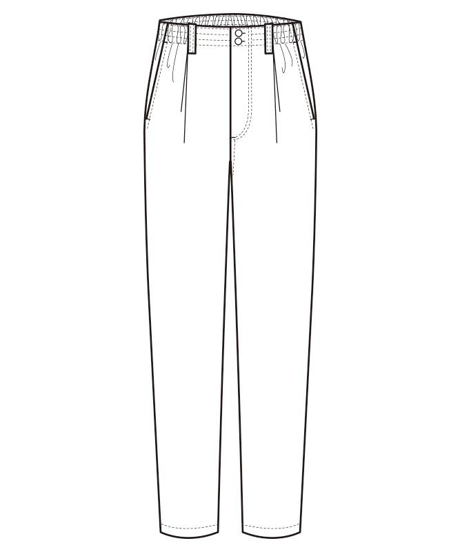 パンツ[男女兼用][セブンユニフォーム製品] EL3395