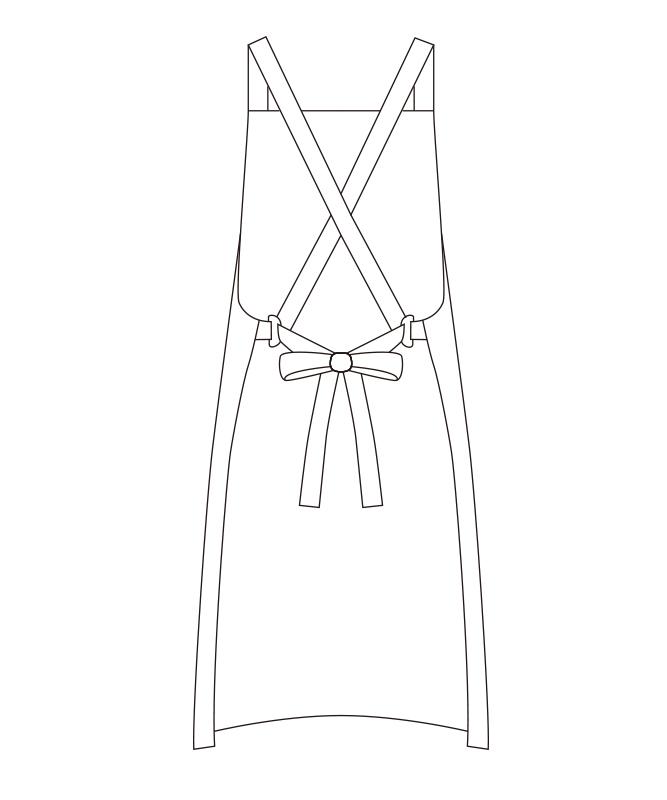 ツイルエプロン[チトセ製品] T7500