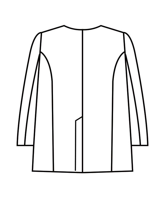 調理衣メンズ長袖[住商モンブラン製品] 1-613