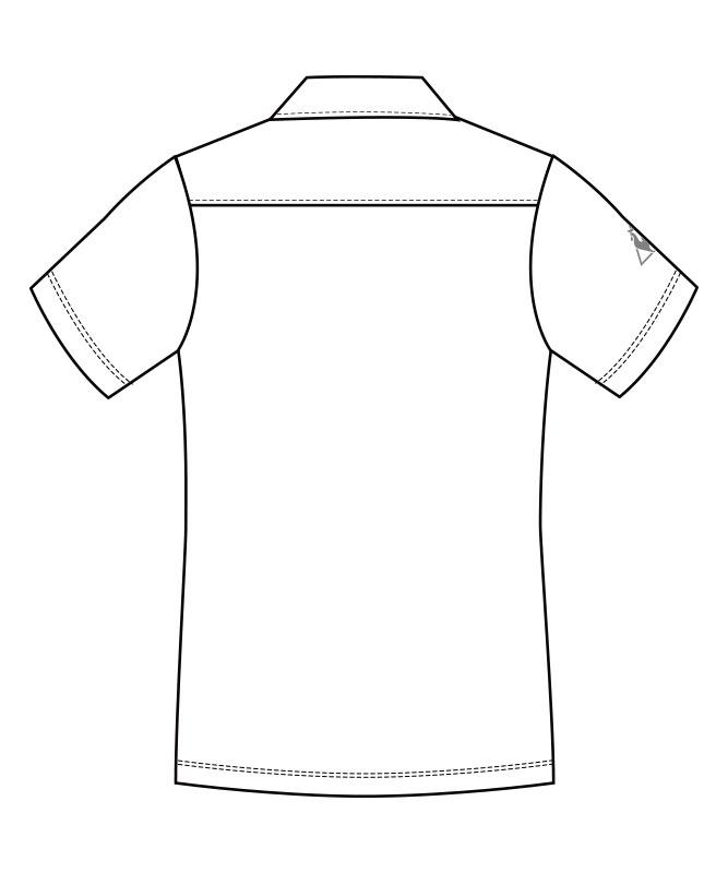ルコックスポルティフニットシャツ半袖[男女兼用][lecoq製品] UZL3064