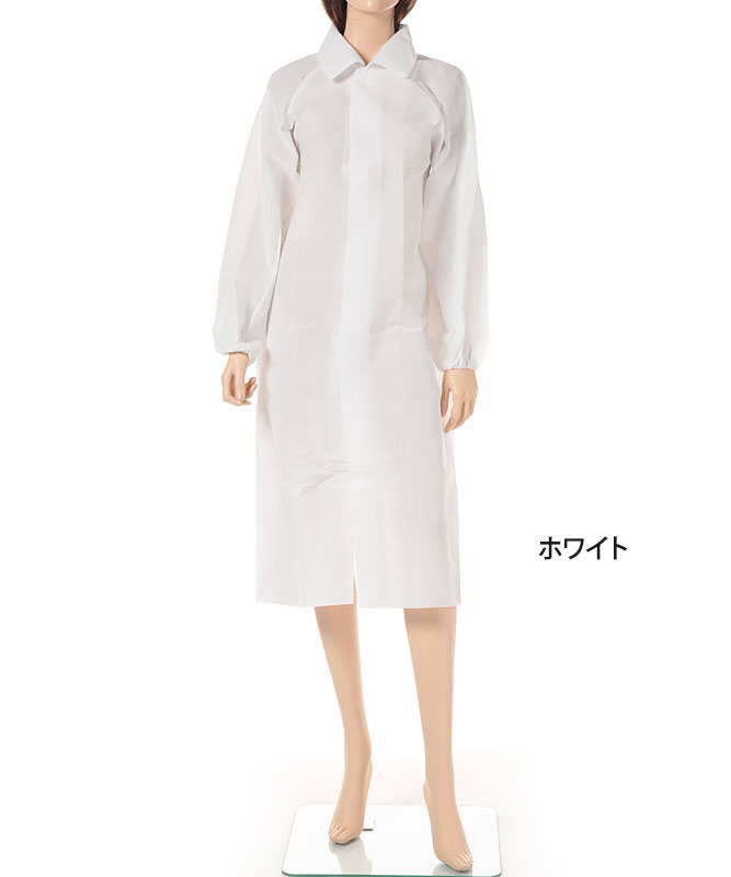 エージークリーン使い捨て白衣3点セット(マジックテープ仕様・返品不可商品)[アゼアス製品] AZCLEAN1302