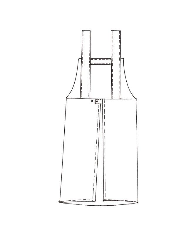撥水エプロン[KAZEN製品] 501-9