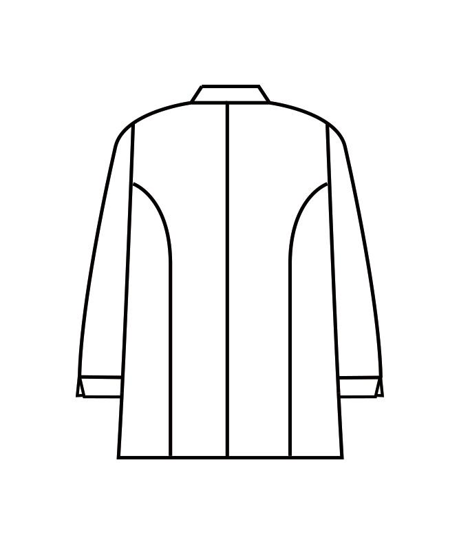 ツイルコックコート長袖[男女兼用][住商モンブラン製品] 6-851