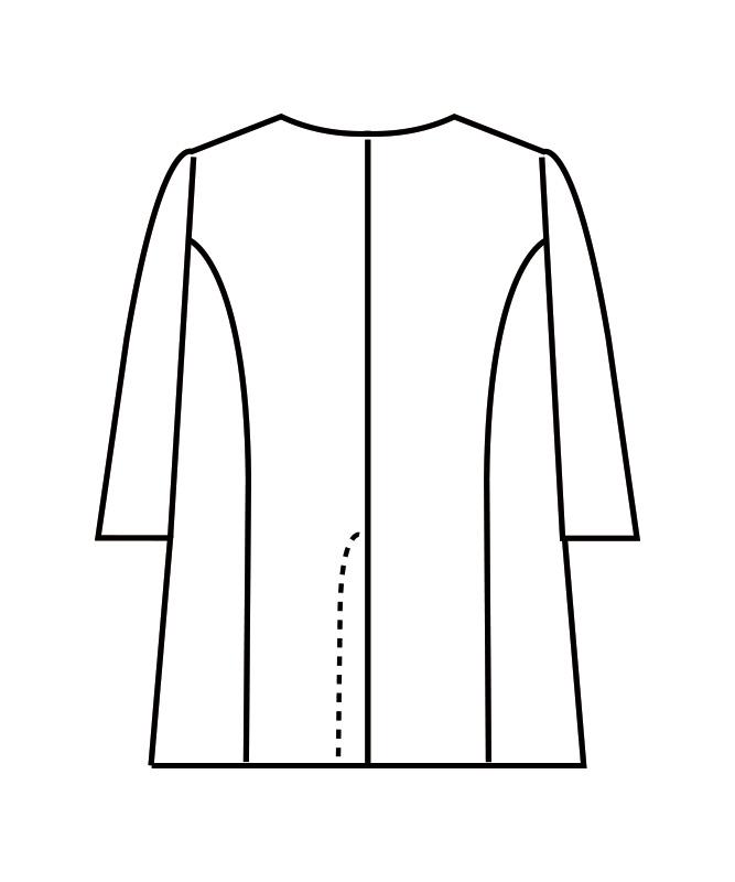 調理衣メンズ七分袖[住商モンブラン製品] 1-617
