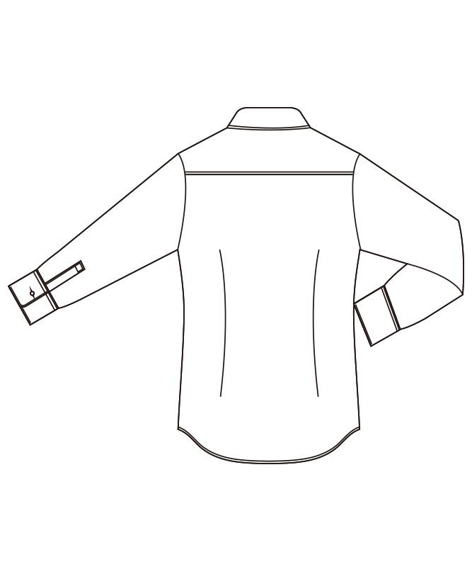 ブラウス七分袖[チトセ製品] EP7914