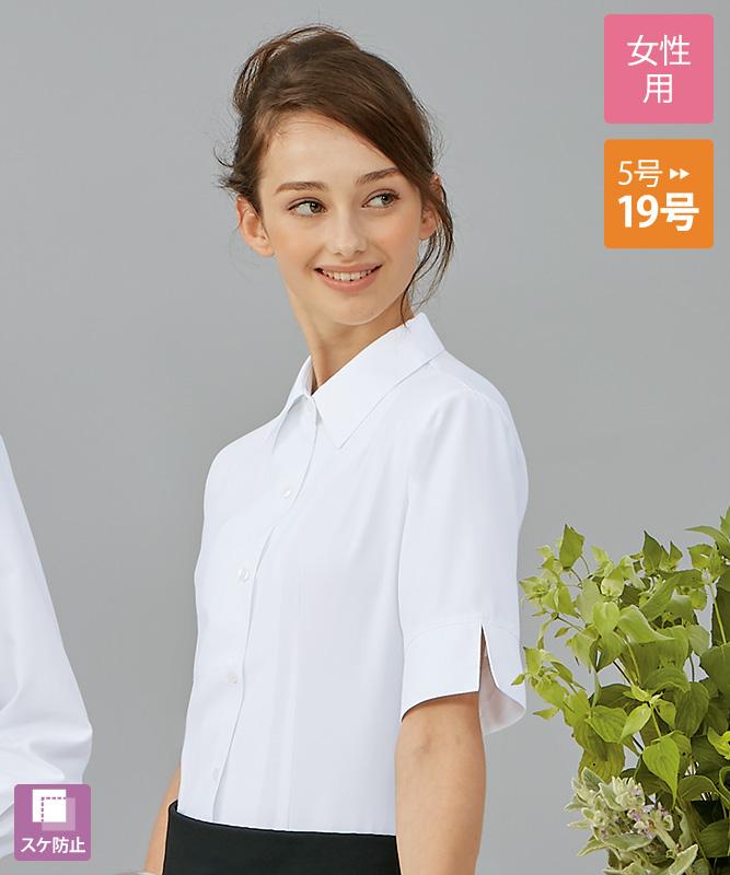 ブラウスレディス5分袖[住商モンブラン製品] BK2162