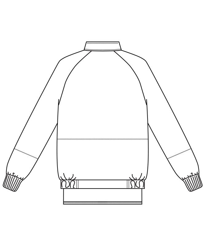 ブルゾン長袖[男女兼用][チトセ製品] AS8520