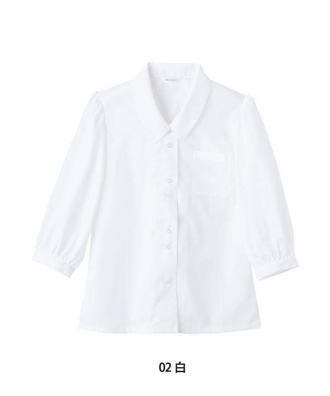 ブラウスレディス七分袖[住商モンブラン製品] BS2101-2