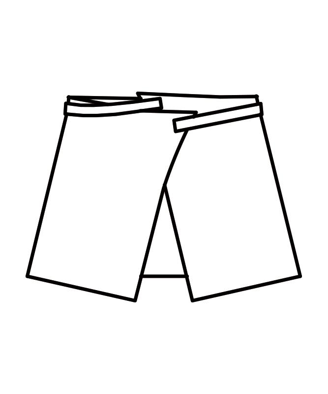 サロンエプロン(ボーダー)[男女兼用][住商モンブラン製品] MC815