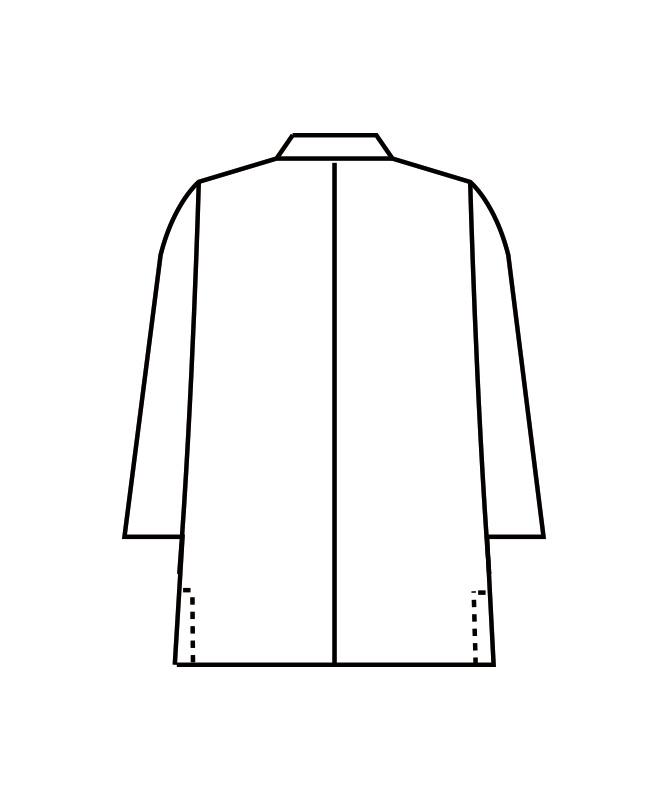調理コート七分袖[男女兼用][住商モンブラン製品] 1-851