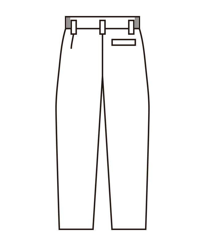 ストレッチツイルメンズスラックス[KAZEN製品] 430-90