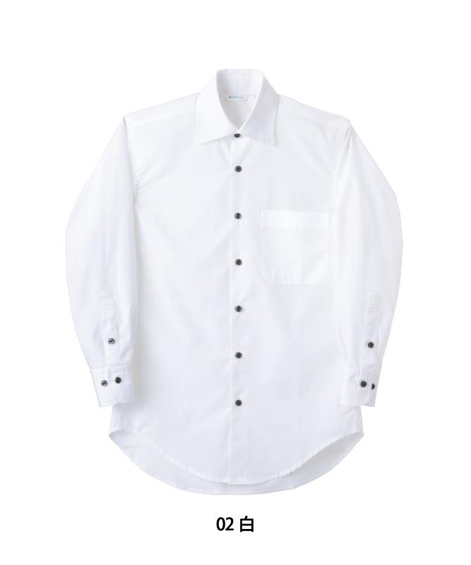 ブロードシャツ長袖[男女兼用][住商モンブラン製品] BS2541