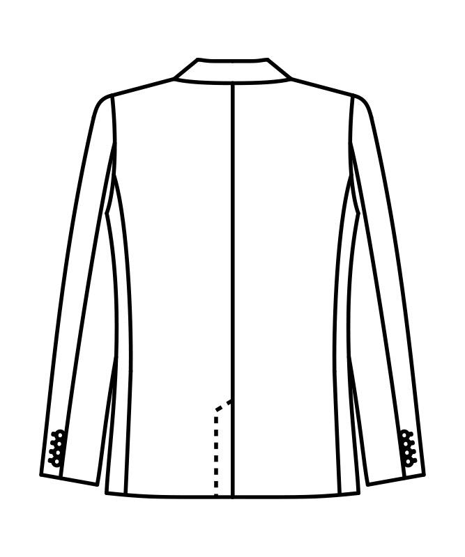 ジャケットメンズ長袖(裏地付)[住商モンブラン製品] BM1601