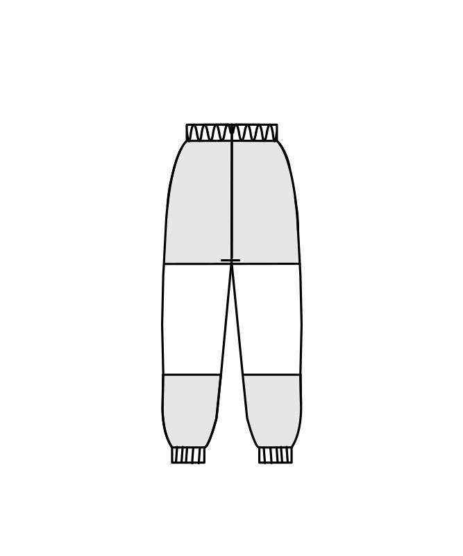 制電トリコットパンツ(総ゴム+ヒモ付)[男女兼用][住商モンブラン製品] ST7711