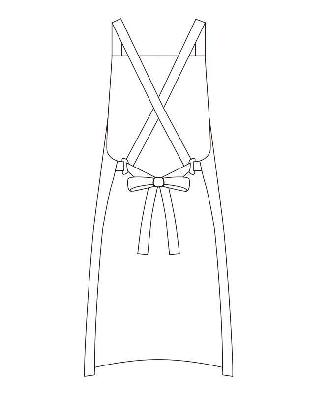 ツイルエプロン[チトセ製品] T7826