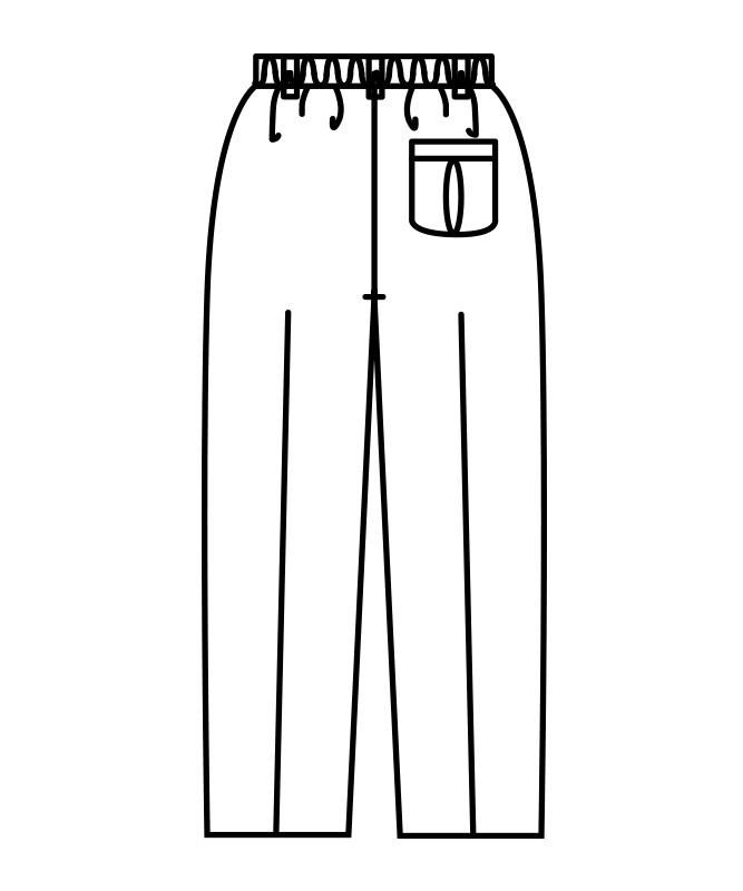 トレパンレディス(総ゴム・横ファスナー)[住商モンブラン製品] 7-033