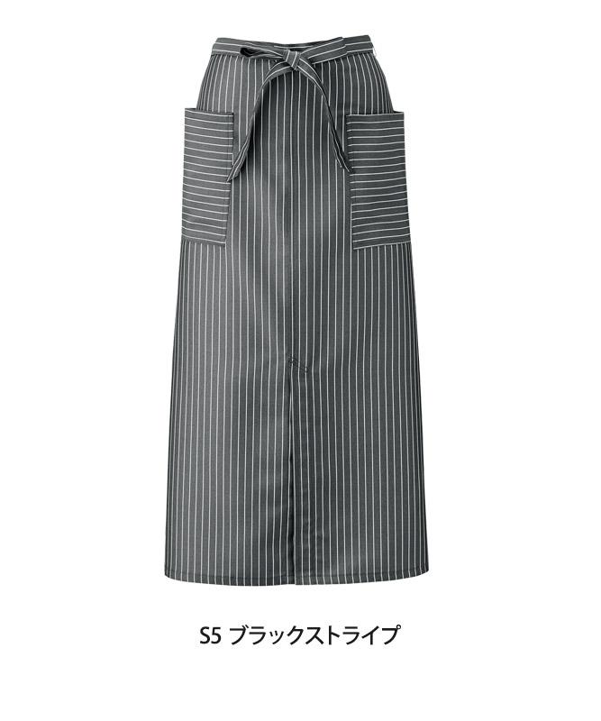 ソムリエエプロン(ストライプ)[KAZEN製品] APK493-S