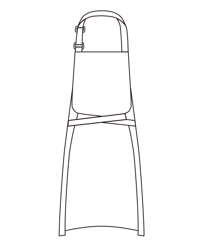ツイルエプロン[チトセ製品] T7924