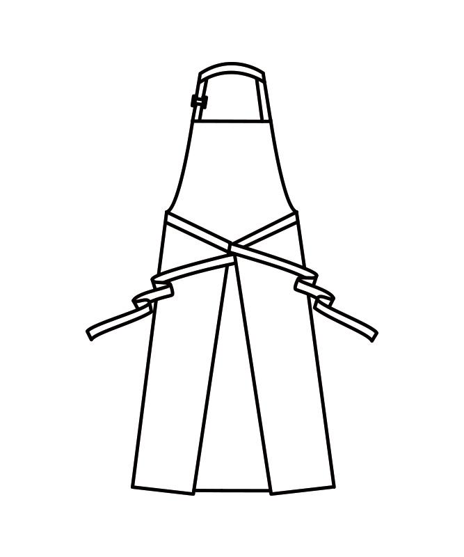 エプロン[男女兼用][住商モンブラン製品] MC928