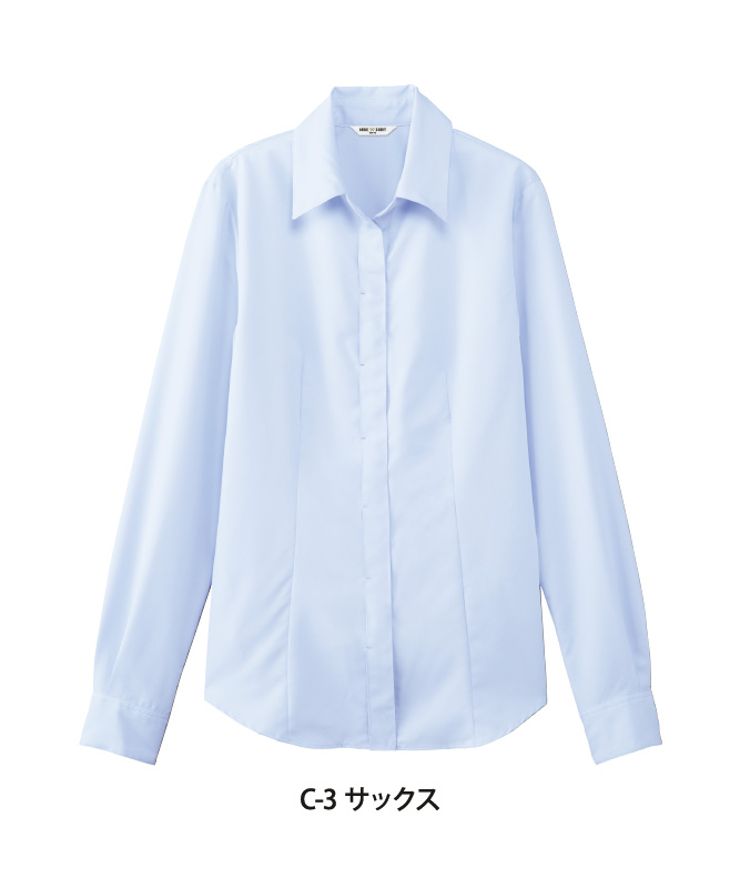 ブラウス長袖[女子][チトセ製品] BL8527