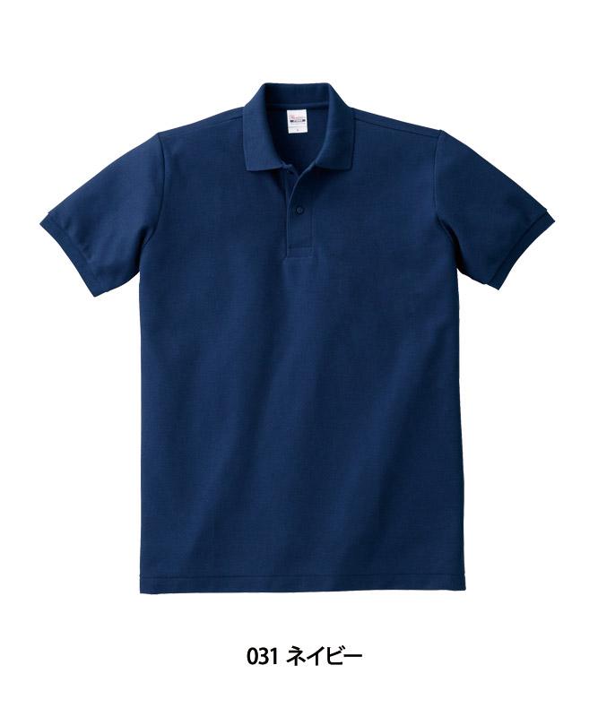 T/Cポロシャツ半袖(ポケット無し)(5.8オンス)[男女兼用][トムス製品] 00141-NVP