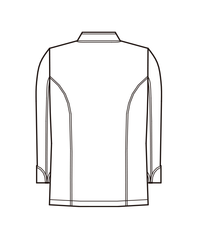 コックコート長袖[男女兼用][KAZEN製品] 606-70