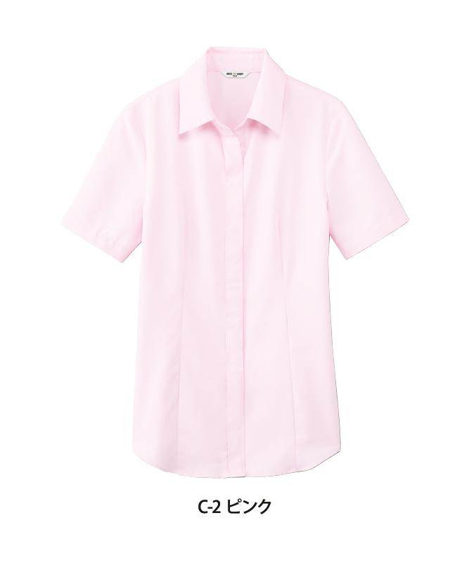 ブラウス半袖[女子][チトセ製品] BL8528