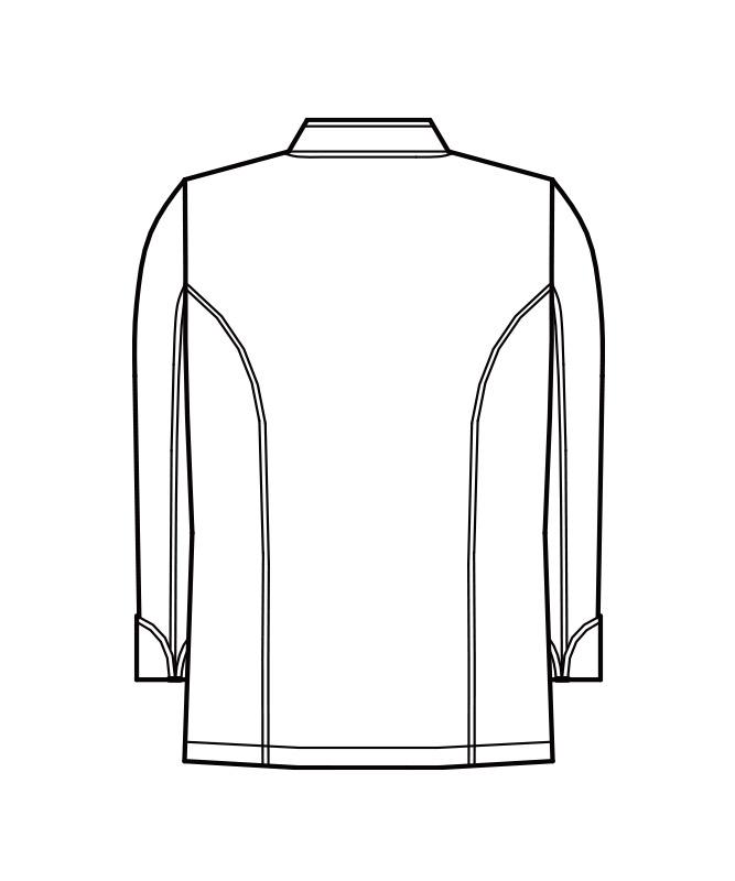 コックコート長袖[男女兼用][KAZEN製品] 607-70