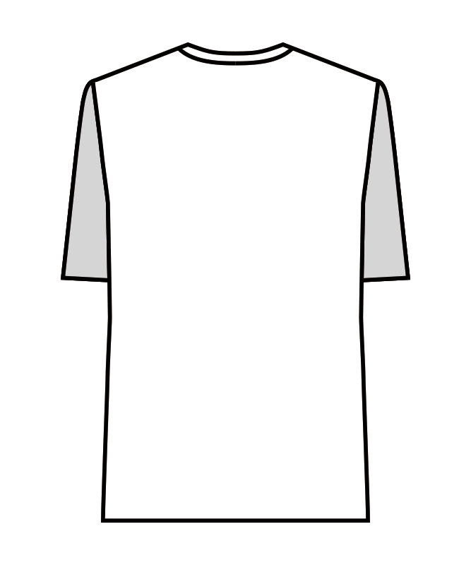 Tシャツ半袖(袖口ネット付)[男女兼用][住商モンブラン製品] 2-51