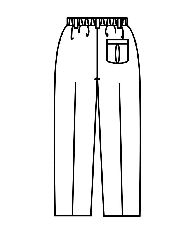 パンツレディス(ツータック・半ゴム)[住商モンブラン製品] 7-049
