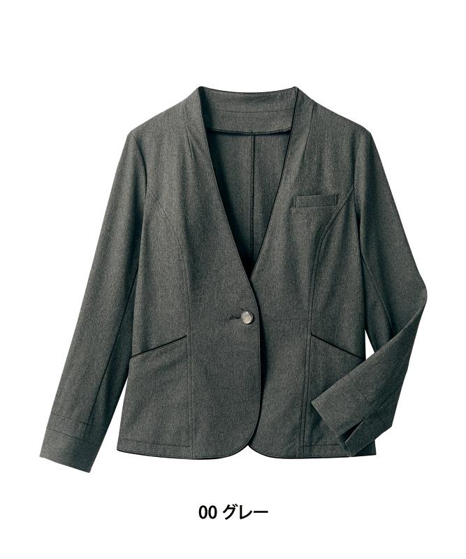 ニットジャケットレディス長袖[住商モンブラン製品] BR1101