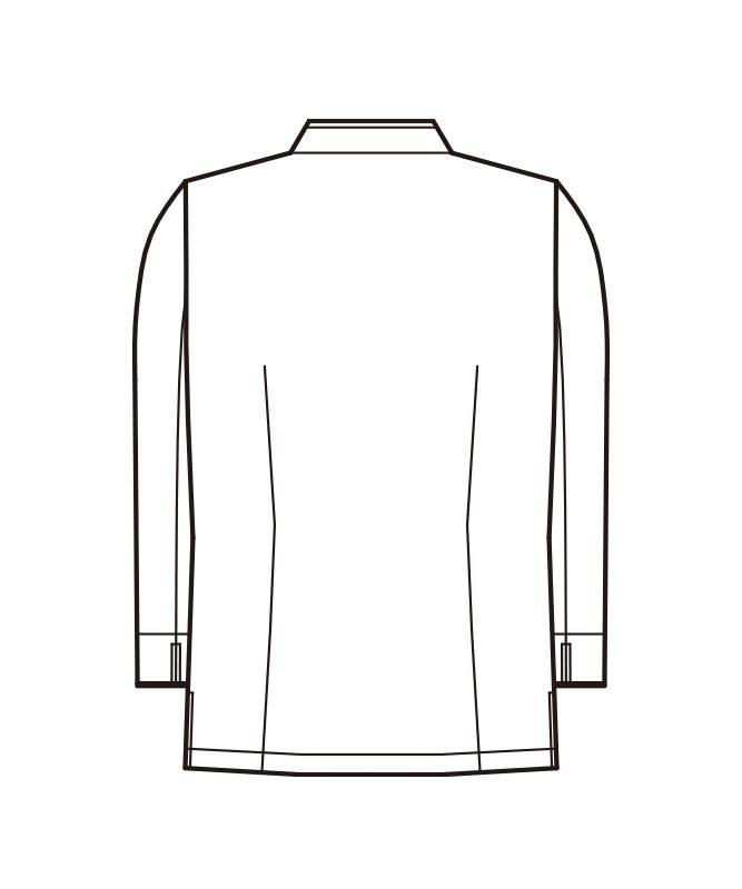 ダブルコート長袖[男女兼用][KAZEN製品] 608-70