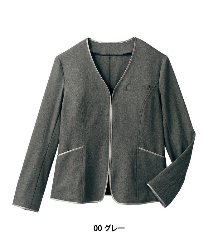 ニットジャケットレディス長袖[住商モンブラン製品] BR1102