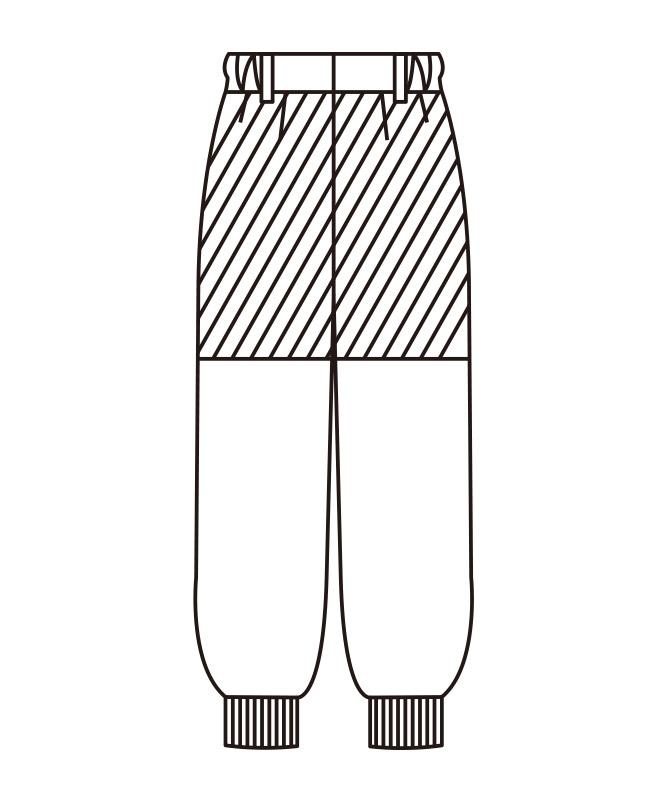 アクアウィンカーメンズスラックス[KAZEN製品] 437-2