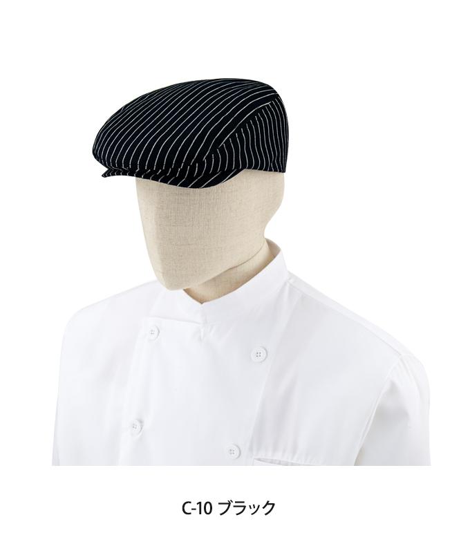 ハンチング帽(ストライプ)[チトセ製品] AS7930