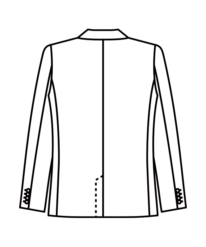 ジャケットメンズ長袖[住商モンブラン製品] BT1601-1