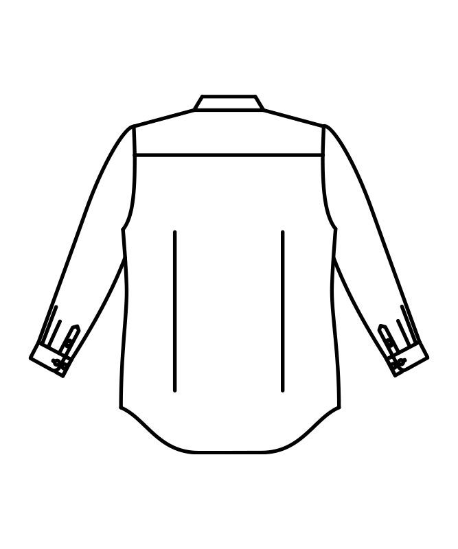 デニムシャツ長袖[男女兼用][住商モンブラン製品] BW2510