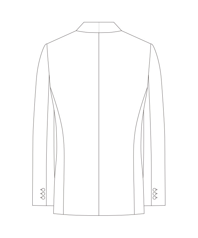拝絹タキシード[男子][チトセ製品] KM8388
